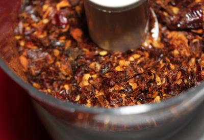 homemade hot pepper flakes