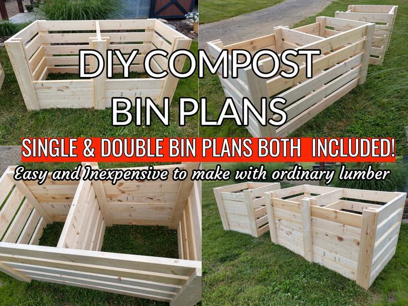compost bin planters