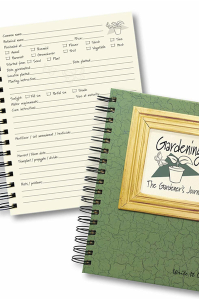 gardening journal 2 - Christmas Garden Gifts