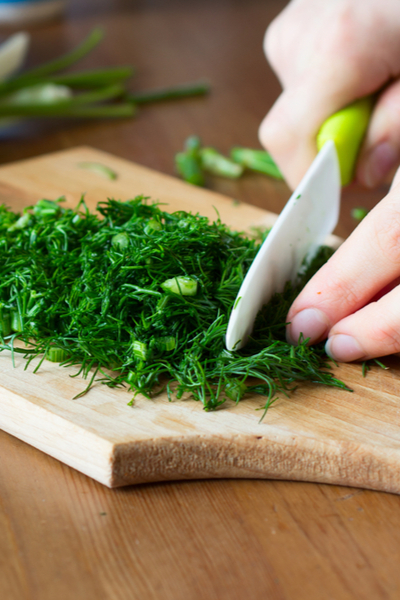 growing herbs indoors and cooking with herbs