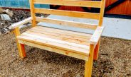 Creating A Classic DIY Garden Bench For Your Home & Garden – With 2 x 4's!