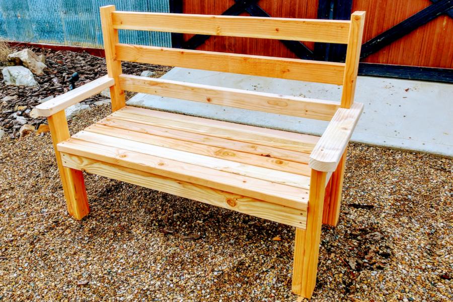 diy classic garden bench