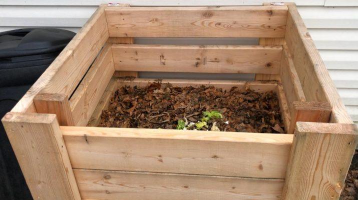 homemade compost bins