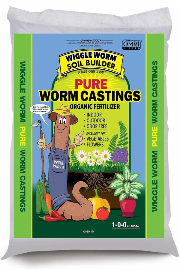 worm casting soil