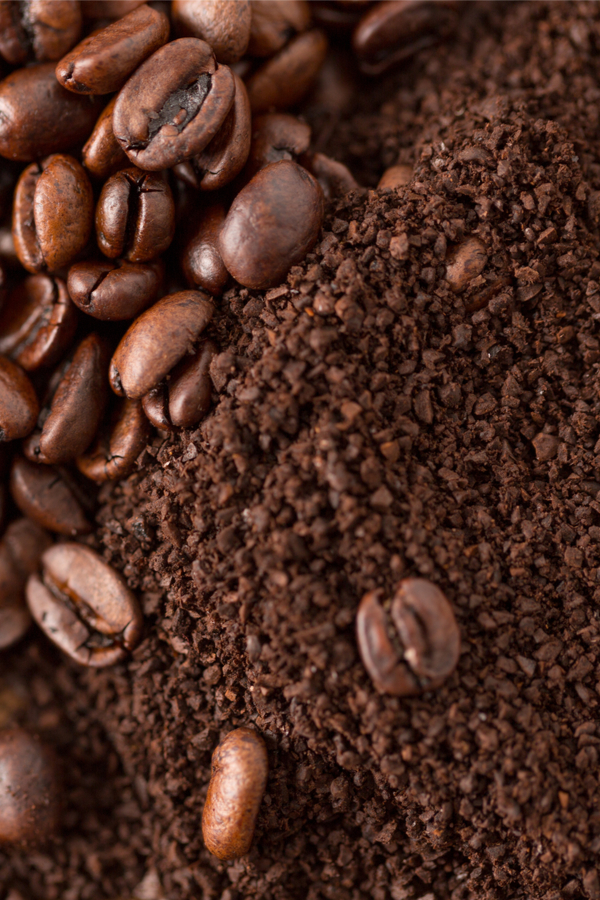 coffee grounds for compost pile